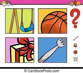 preschool, onderwijs, activiteit