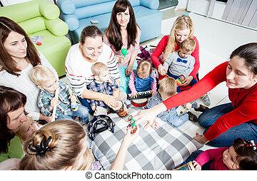 preschoolers, 教育, ミュージカル