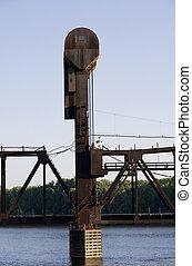 Prescott Bridge Counterweight and Tower