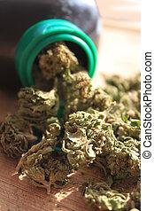 prescrição, marijuana