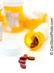 prescrição, pílulas