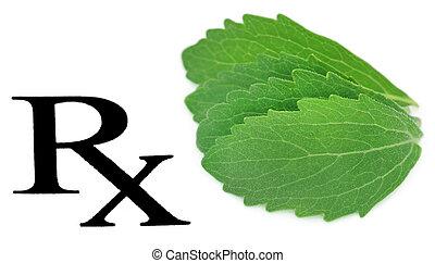 Prescribed stevia leaf