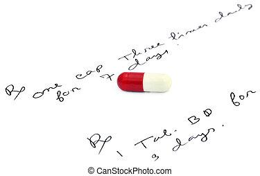 prescribes, capsules