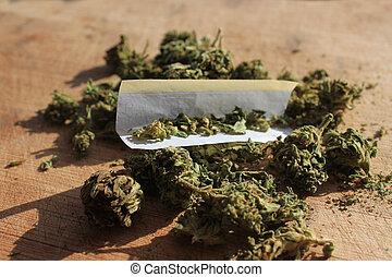 prescripción, marijuana