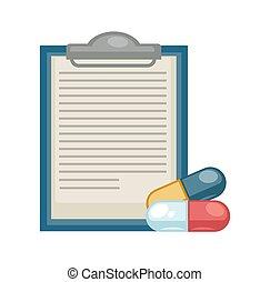 Prescription and pills medicine and healthcare disease treatment pharmacy
