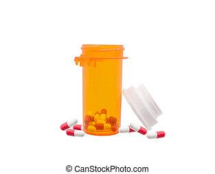 Prescription Bottle Pills