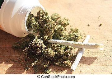 Prescription marijuana - Green prescription cannibis...