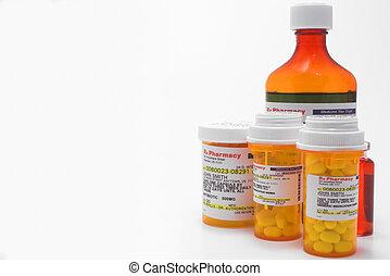 Prescription Medication - A variety of prescription...