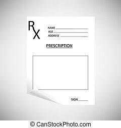 prescription, vide