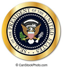 Presedent Seal Button