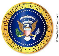 Presedent Seal Depiction