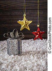 Present and star