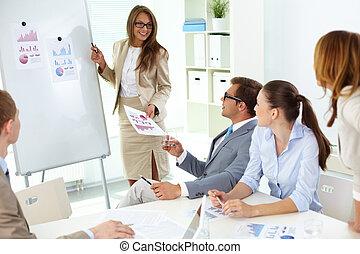 presentación, estrategia