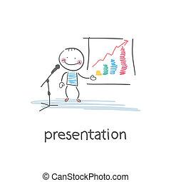 presentation., イラスト