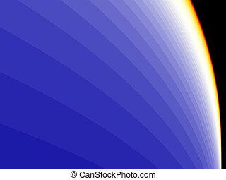 blue presentation background