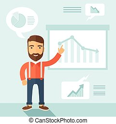 presentation., business