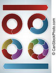 presentation elements - cyclic presentation elements