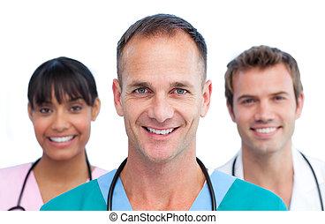 Presentation of a self-assured medical team
