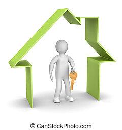 Presentation of new house