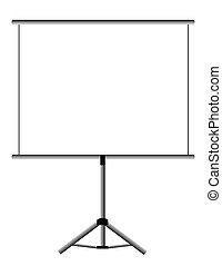 Presentation Screen - Blank Presentation presentation....
