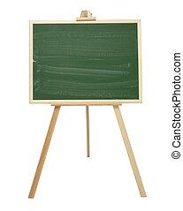 presentation, skola, baner, affär, chalkboard, utbildning