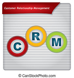 Presentation template - Contact Relationship Management software