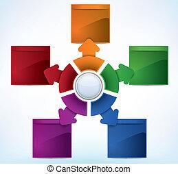 Presentation Template - Multicolored presentation template ...