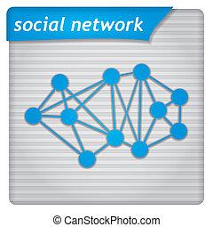 Presentation template - social media