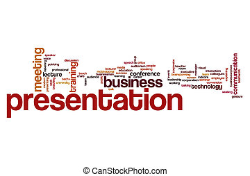 Presentation word cloud concept
