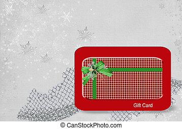 presente, cartão natal