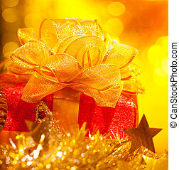 presente natal, caixa