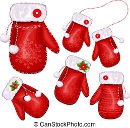 presente natal, mittens