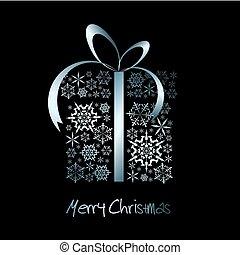 presente navidad, caja
