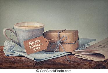 presente, para, día de padres