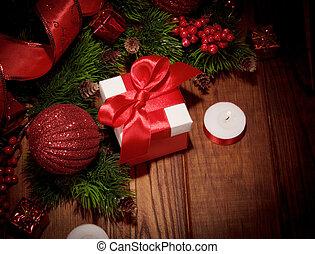 Presentes, árvore, Natal, coloridos