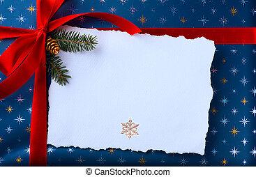presentes, arte, árvore, decoração, sob, natal