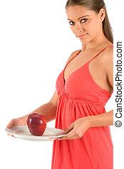 Presenting apple