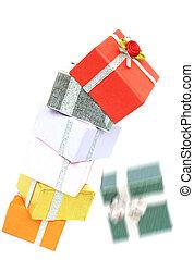 Presents Falling