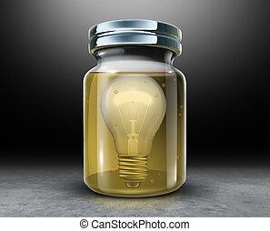 Preserve Creativity - Preserve creativity concept and...