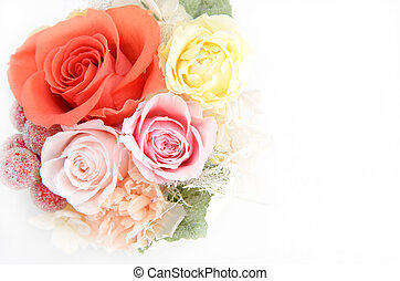Preserved Flowers - Natural preserved flowers and foliage on...
