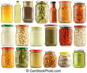 Preserved food - Preserved vegetables and food ingredients...