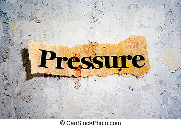 presión