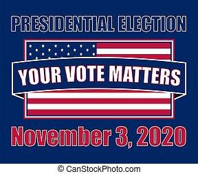 presidencial, elección, 2020