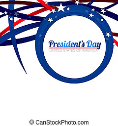 President Day Background - President Day background with...
