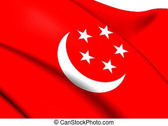 President of Singapore Flag