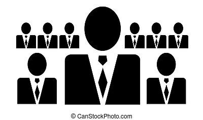 president symbol vector
