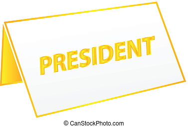 President Table Tag