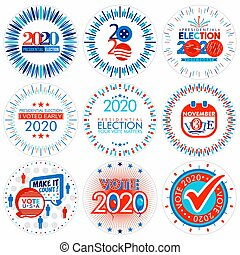 Presidential Election 2020 Badges