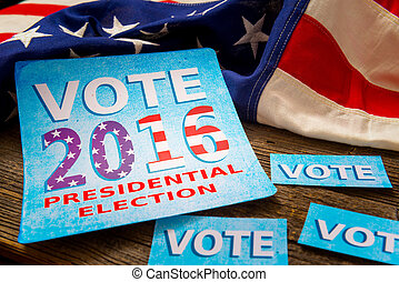 Presidential Election Composition - Composition of objects...