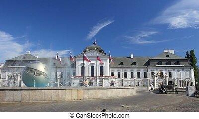 Presidential Palace. Bratislava.Slovakiya - BRATISLAVA,...